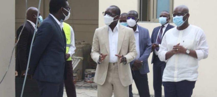 Bénin/Institution : Patrice Talon réceptionne les nouveaux bâtiments de la Cour Constitutionnelle