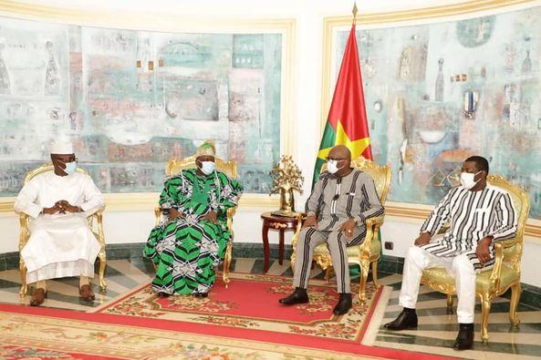 Diplomatie et Coopération interparlementaire: Le président Vlavonou reçu par son homologue burkinabè et le président Roch Kaboré
