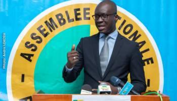 James William Gbaguidi , Porte-Parole de l'Assemblée Nationale