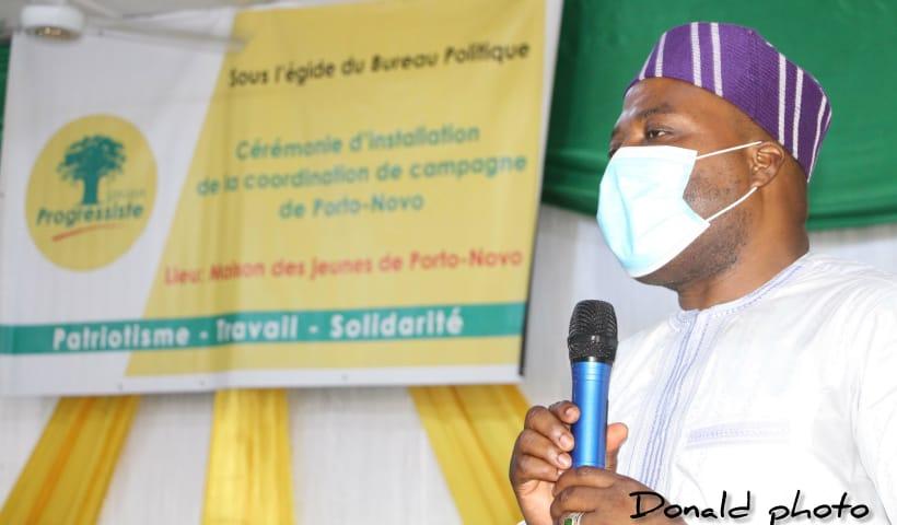Présidentielle du 11 avril 2021: 06 Comités Communaux de Campagne et 26 Groupes de Campagne d'Arrondissement de l'Up Installés à Porto-Novo