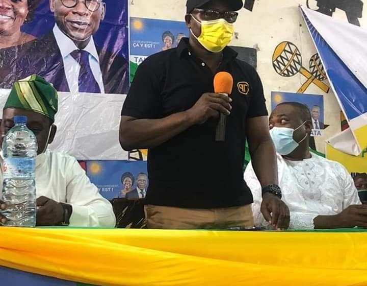 L'honorable Ahouanvoébla et l'Union Progressiste en croisade dans la commune de Sèmè-Podji pour la victoire du duo Talon-Talata