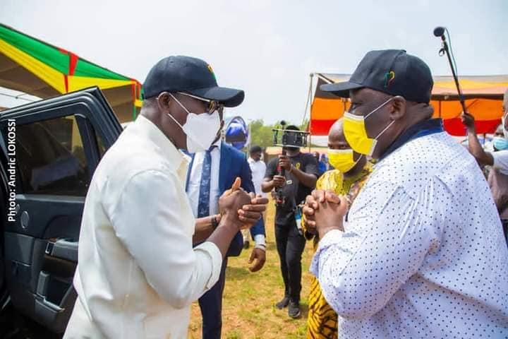 Message du candidat Talon à Ifangni: «20 nouvelles communes du Bénin recevront les stades, les marchés, les infrastructures communautaires»
