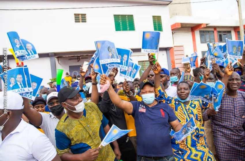 Liesse populaire après les résultats provisoires de la présidentielle: Les militants UP de Porto-Novo chez le Président Vlavonou