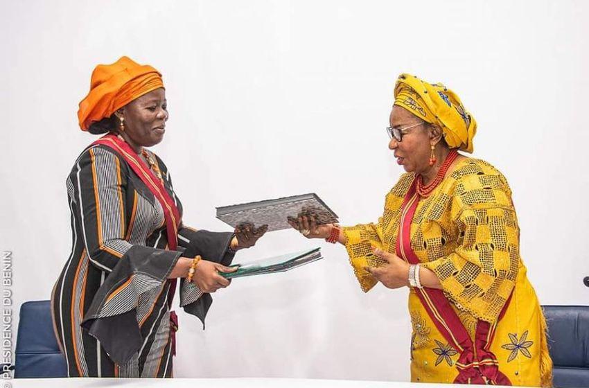 Bénin/Institution: Mariam Chabi Talata Zimé évoque sa vision de la Grande Chancellerie de l'Ordre National du Bénin