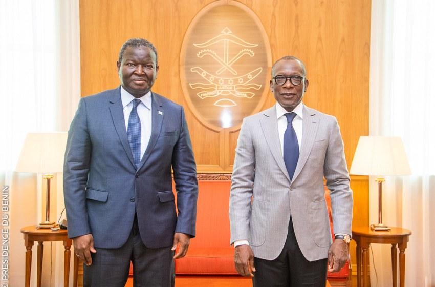 Bénin: Le président de la Commission de l'UEMOA au cabinet du Président Patrice TALON
