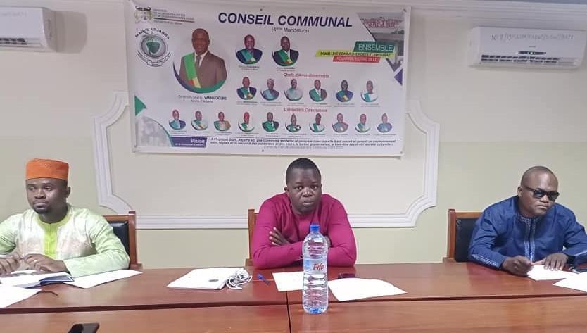 Acte 1 de la 2ème session ordinaire 2021 de la Commune d'Adjarra : Le rapport d'activités du maire Wanvoègbè, comme une lettre à la Poste