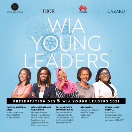 Les lauréates de la 1ère promotion du programme WIA Young Leaders