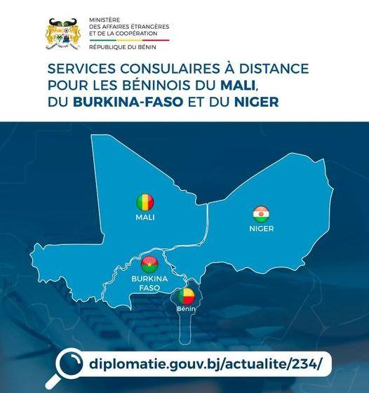 Demandes de pièces consulaires en ligne: De bonnes nouvelles pour les béninois vivant au Mali , au Burkina-Faso et au Niger