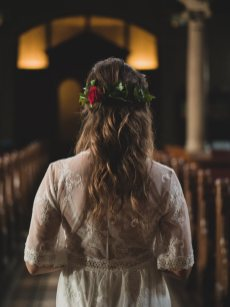 boho bride hair styling IV