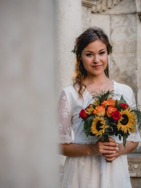 boho bride wedding make up II