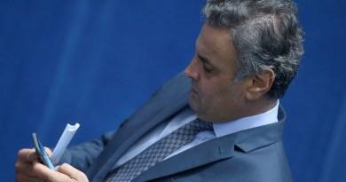 STF dá 30 dias para conclusão de investigação sobre Aécio Neves