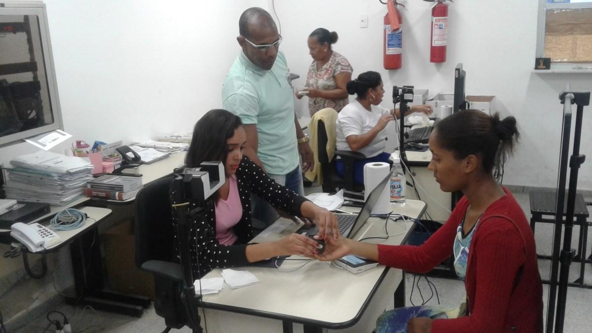 Itaparica e Vera Cruz : Cadastramento Biométrico