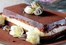 Terrine de Chocolate Branco e Preto