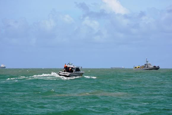 Marinha emite alerta para ciclone na Bahia e no Espírito Santo
