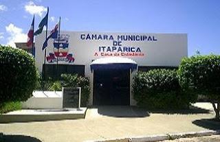 Vereadores de Itaparica o que falar deles