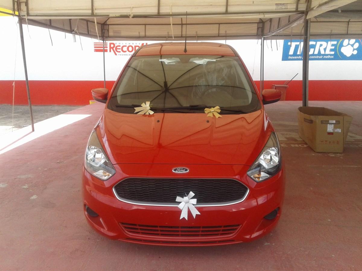 Sai para Salvador o Ford KA sorteado pela Comercial Coroa;Veja a lista dos ganhadores
