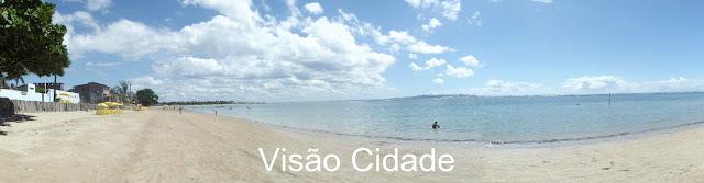 Ilha de Itaparica - Vera Cruz-BA: Praia de Taipoca