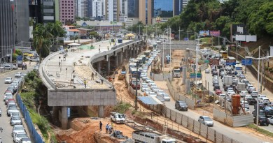 Obras do BRT mudam trânsito e transporte público na Av. ACM a partir desta semana