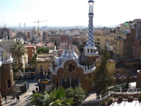 Parque Guell -Barcelona-visaparaviajar.com
