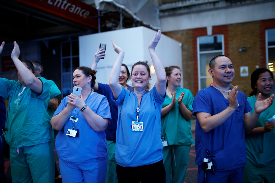 Around 2,800 migrant doctors, nurses and paramedics, employed by the NHS whose visa is due to expire before 1 October.