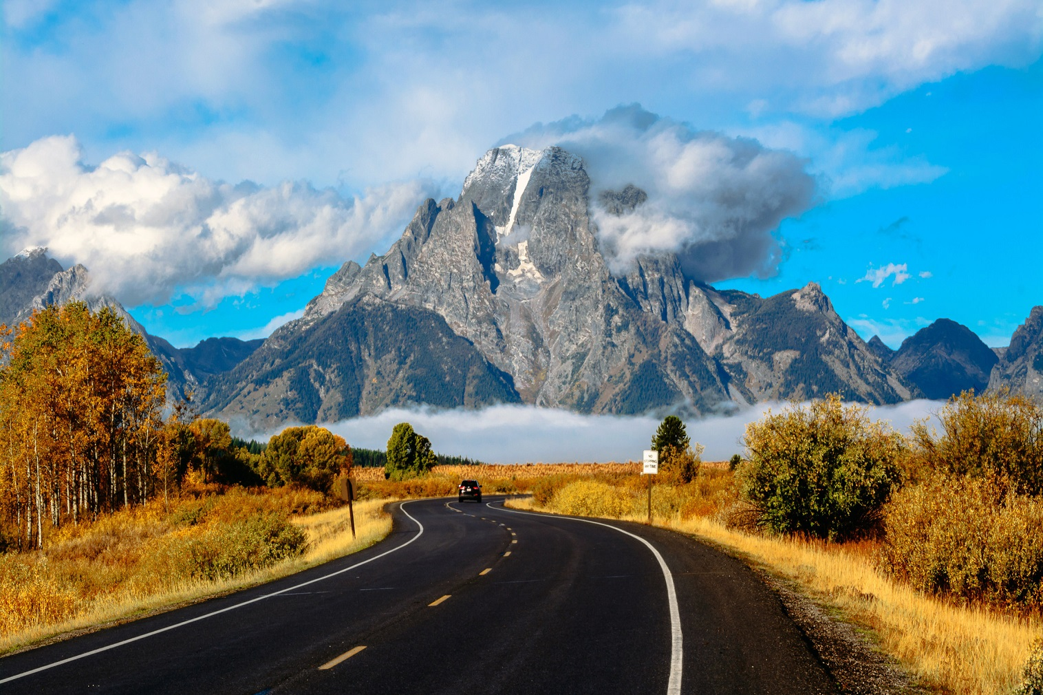 A road trip to the Grand Tetons is a vacation option a travel advisor can help you plan, including guided tours and luxury resorts along the way.