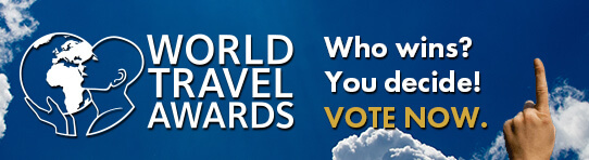 World Travel Awards - Voting is now open and runs until 25th October 2020.