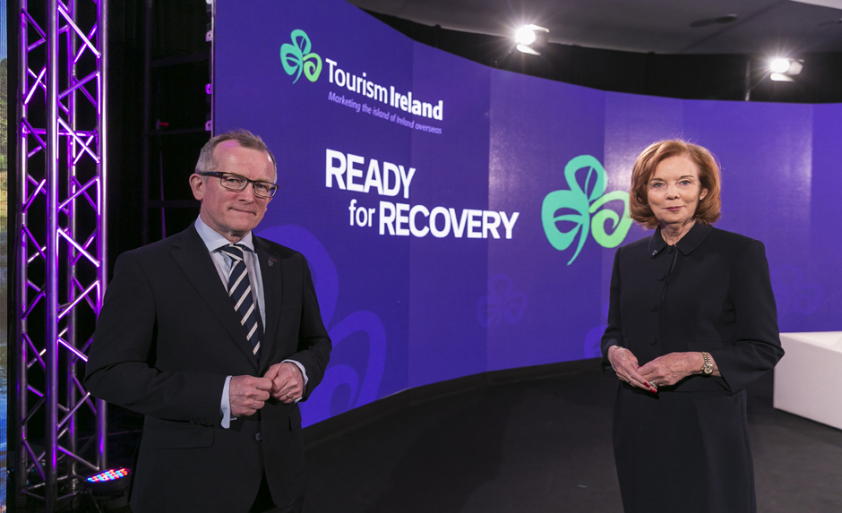 Right now, Tourism Ireland is planning a significant kick-start campaign, which will be launched when the time is right, possibly around St Patrick's Day 2021 – to drive bookings and revenue for tourism businesses.