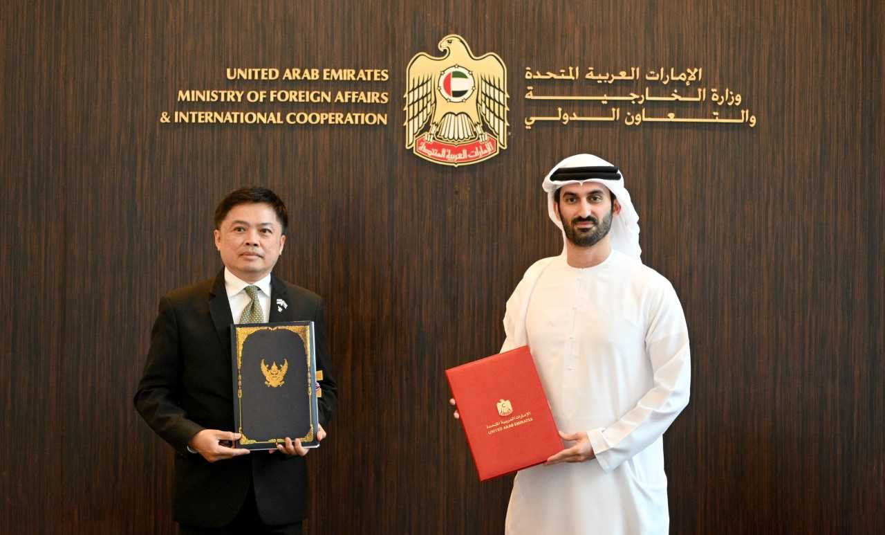 Under the agreement, citizens of the UAE holding diplomatic and special passports are exempt from entry visas to the Kingdom of Thailand, noting that the agreement will enter into force after the completion of constitutional procedures in both countries.