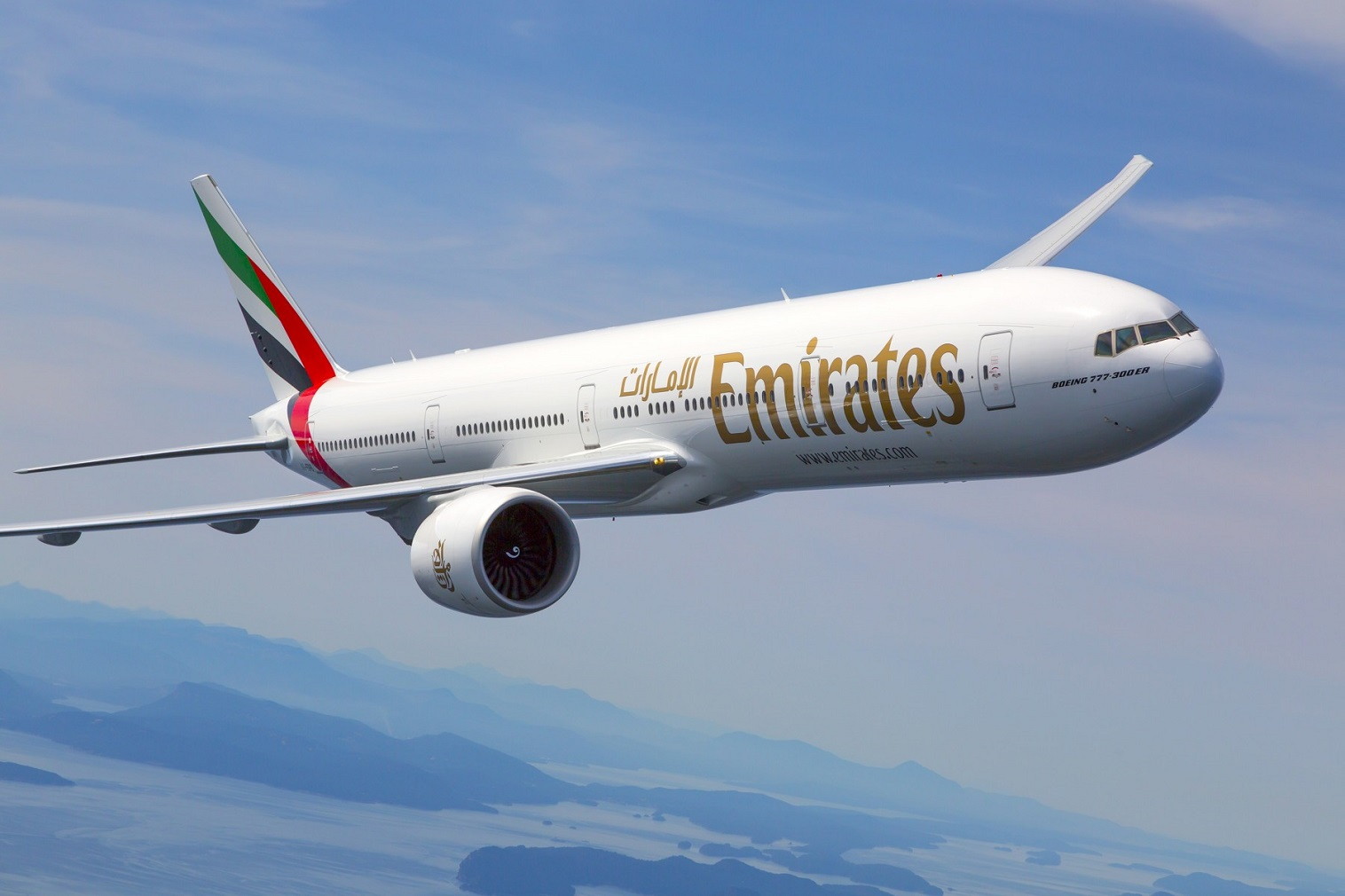 The Milan-New York JFK flight will be an extension to Emirates' existing flights to Milan EK205, operated by the Boeing 777-300 ER, offering 8 seats in First Class, 42 lie-flat seats in Business and 304 ergonomically designed seats in Economy class.