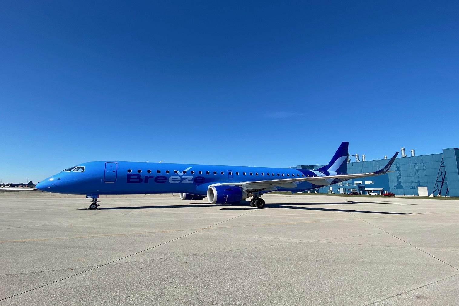 The first flights will operate between Charleston, SC, Tampa, FL and Hartford, CT, starting May 27, with remaining destinations to be added each week through July 22, 2021. Flights are now on sale at www.flybreeze.com and the Breeze app, starting at just $39* one way.