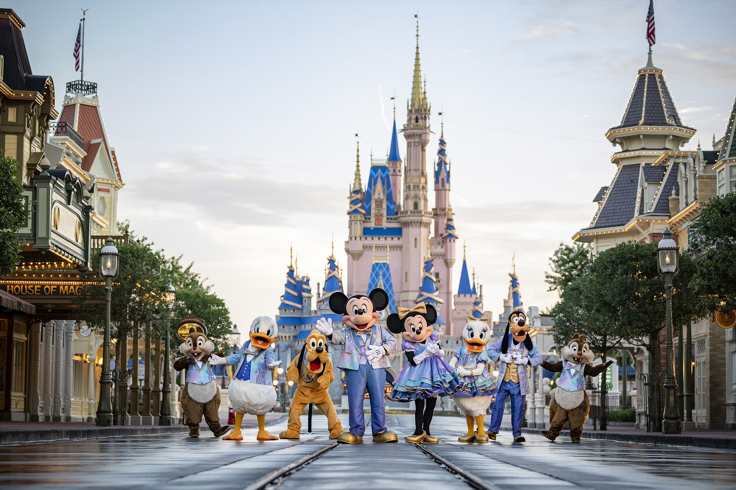 New nighttime spectaculars, EARidescent moments and other surprises await guests during Disney World Resort 18-month 50th anniversary event.