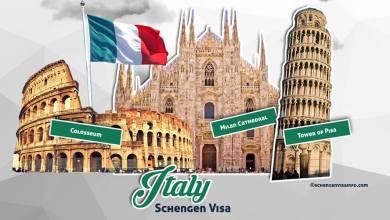 documents pour visa d'italie au maroc