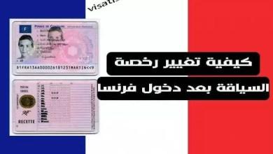 كل ما عليك ان تعرفه عن رخصة السياقة في فرنسا 2020 وهل يمكنك استعمال رخصة سياقة