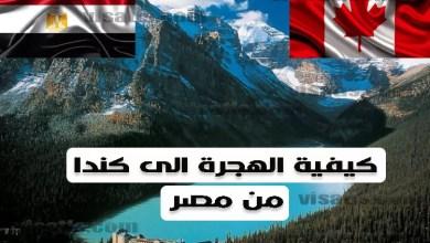 هجرة الى كندا من مصر 2020
