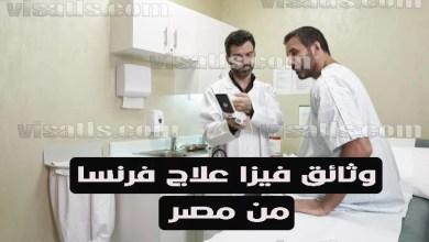 فيزا فرنسا للعلاج – علاج بفرنسا للمصريين