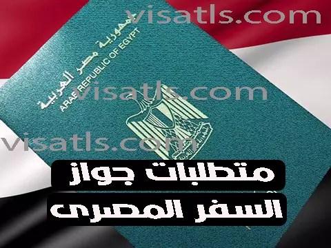 وثائق جواز السفر المصري 2021 تجديد جواز السفر المصري البيومتري استعلام جواز مصري