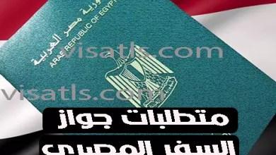 وثائق جواز السفر المصري 2021 – تجديد جواز السفر المصري البيومتري