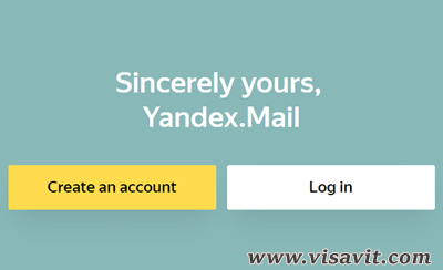 Yandex Mail Create Account image