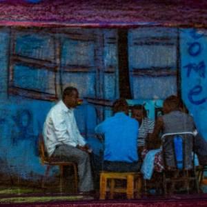 Men at Welcome Hotel, Oromia, Ethiopia