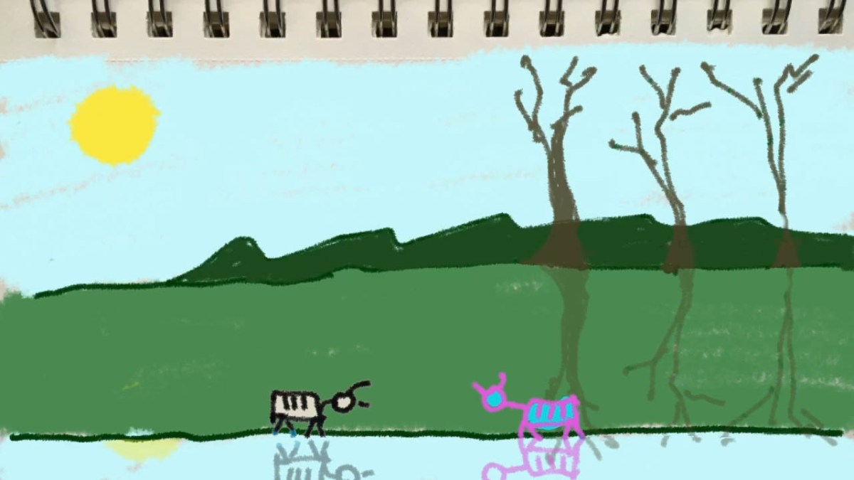 Rough animator: Goats Coloured