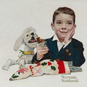 Norman Rockwell - Mars Candy Competition