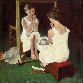 """""""Girl at Mirror"""", 1954"""