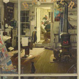 """Shuffleton's Barbershop"", 1950"