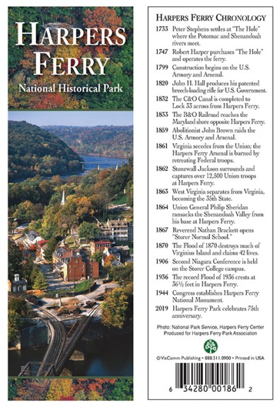 Harpers Ferry Chronology