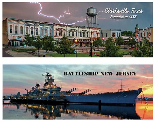 Clarksville Texas / Battleship New Jersey