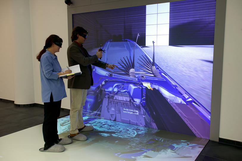 Virtual Reality Vr Bench Viscon