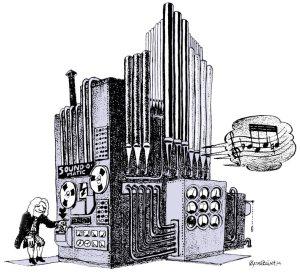 Datamusikkmaskin-tegning