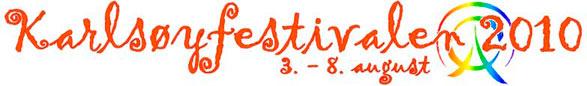 Karlsøyfestival logo
