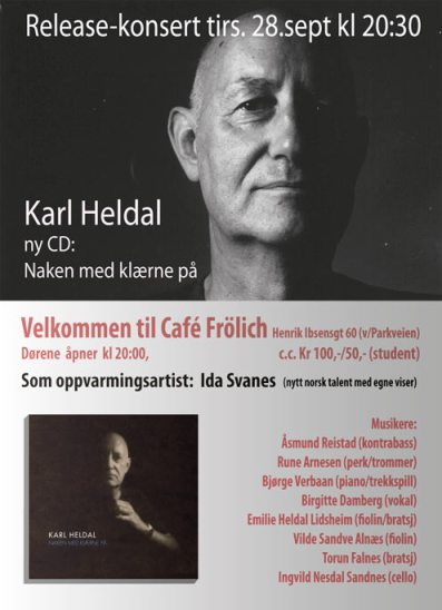 Karl Heldal ny CD