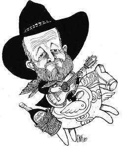 Sid Jansson - tegning